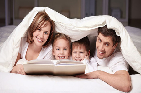 La lectura convierte el sueño en vida y la vida en sueño... también para un niño
