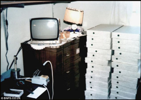 Fotografía tomada por Steve Jobs del primer envio de Apple I