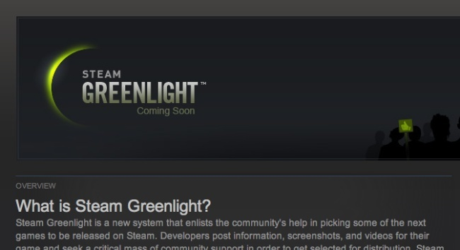 valve steam greenlight