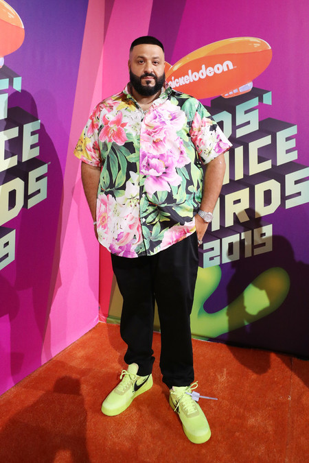 Dj Khaled Nickelodeon S 2019 Kids Choice Awards Arrivals Red Carpet
