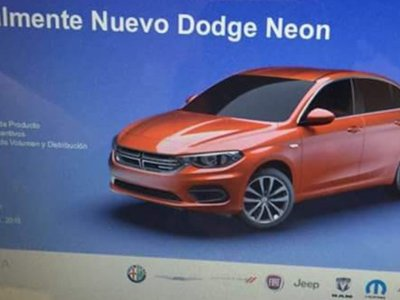 ¡El Dodge Neon vuelve a México! Lo conoceremos este año... y sí, es un Fiat Tipo