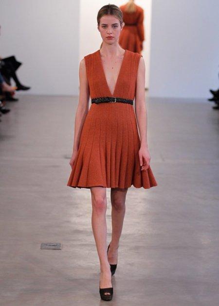 Calvin Klein Pre-Fall 2012: minimalismo entallado