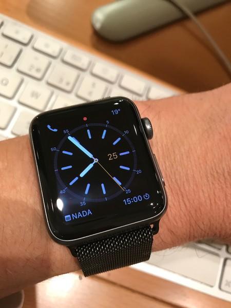 764b99207d6 Apple Watch Series 2 desde la perspectiva del usuario del modelo ...