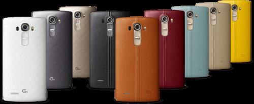 Así es el LG G4: dos diseños, nueve colores y una cámara que promete