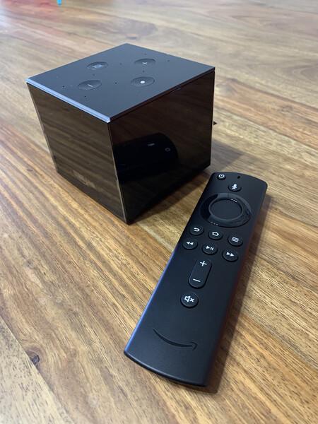 Fire Tv Cube Mando Y Altavoz Con Alexa