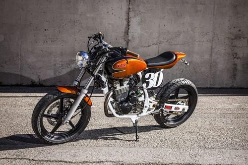 De humilde ciudadana a maravilla trendy: XTR Pepo Tracker Mk2, o una irreconocible Honda CBF250
