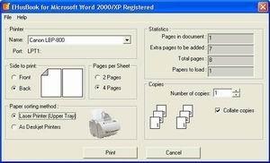 EHusBook, imprime tus documentos en formato de libro