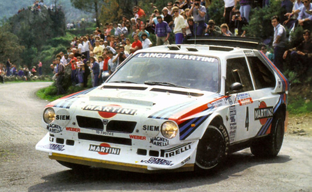 Lancia Delta S4 WRC