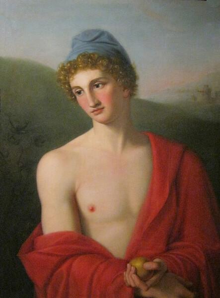 Paris Desmarais By Gaspare Landi 1791