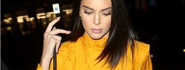 El affaire de Kendall Jenner con el amarillo es el mayor acierto que ha tenido la it girl