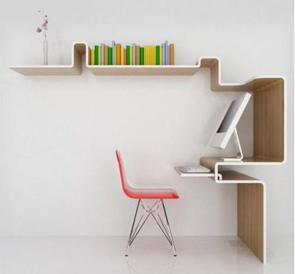 MisoSoup Design's K Workstation: centro de trabajo en una pieza