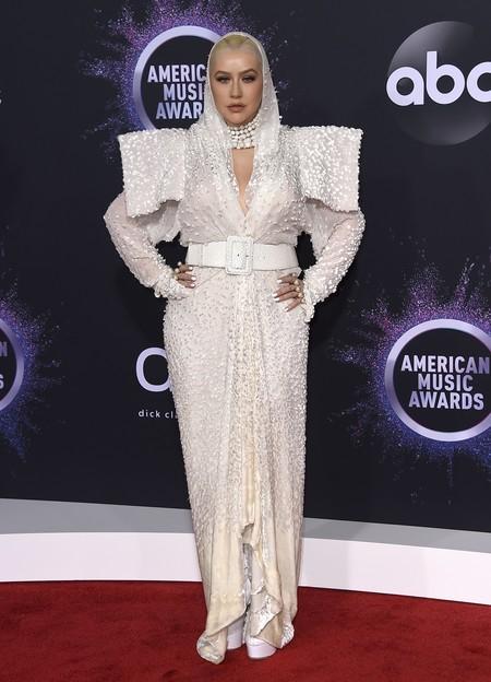 Christina Aguilera Amas Jean Paul Gaultier 01
