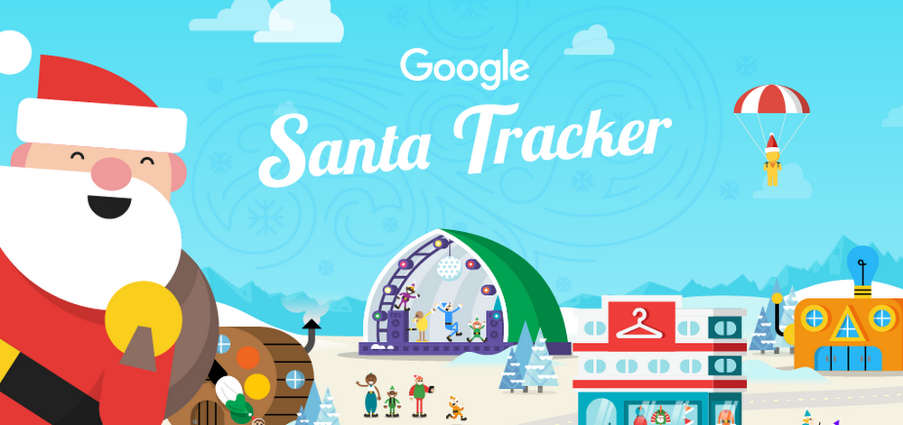 Follow santa from your application with new mini-games or from Google Maps