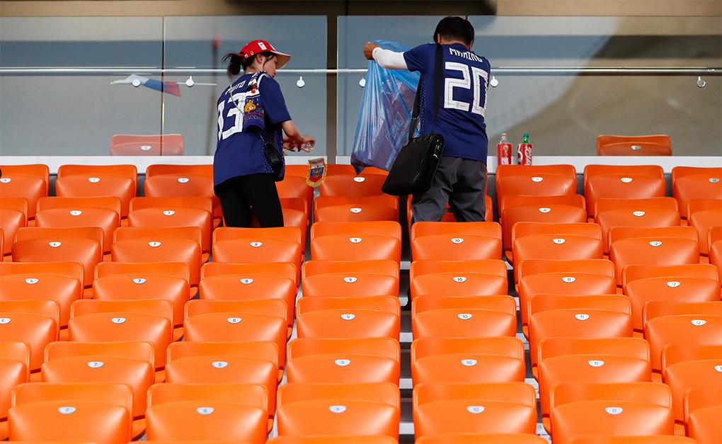 De Japón a los All Blacks, la hermosa tradición de limpiar tu vestuario tras el partido