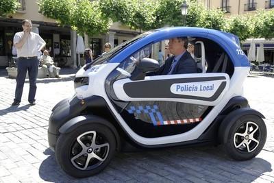 Cada vez hay más vehículos eléctricos destinados a policía local