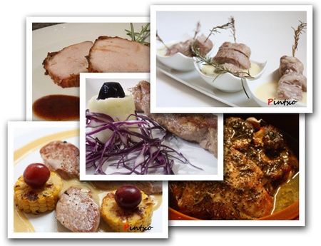 recetas de navidad - cerdo