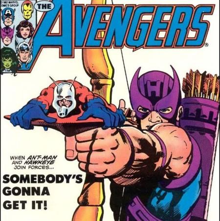Ant-Man y Hawkeye