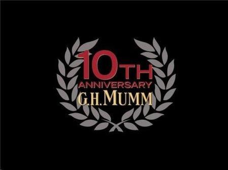 G.H.Mumm celebra su décimo aniversario en la Fórmula 1 con una edición especial