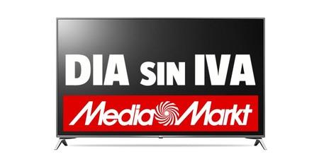 Hoy y mañana, Día sin IVA en Mediamarkt: TVs y proyectores a precios rebajados