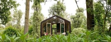 Wikkelhouse, la casa de cartón que se instala en un solo día y dura toda una vida