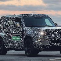 Land Rover revela las primeras fotos oficiales del Defender 2020 en Estados Unidos