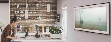 """El smart TV que es una obra de arte, Samsung The Frame 2018 de 49"""", casi a mitad de precio en Amazon: 700 euros"""