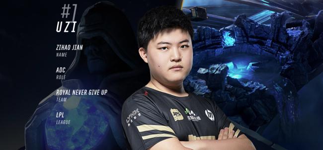 League of Legends: Uzi ocupa el primer puesto del ranking oficial de la temporada