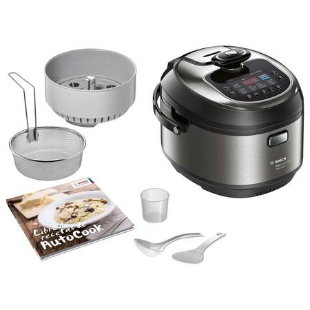 Oferta de Amazon en el robot de cocina Bosch MUC88B68ES: ahora cuesta 179 euros con envío gratis