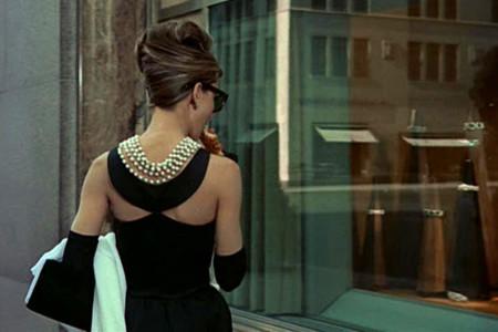 Audrey Breakfast Tiffanys 1961