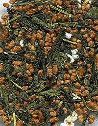 Genmaicha, combinación de té verde y arroz tostado