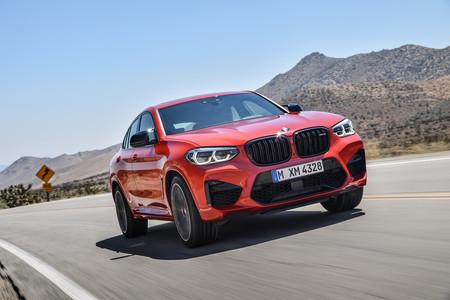 BMW X4 M dinámica frontal