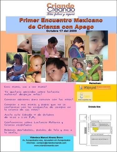 Primer Encuentro Mexicano de Crianza de Apego