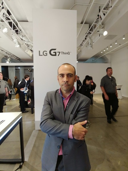 Lg G7 Prueba Camara Retrato