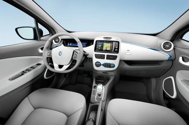 Renault ZOE interior de la versión Zen