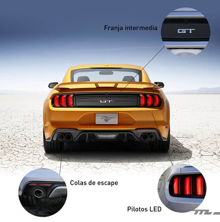 Ford Mustang 2018 trasera