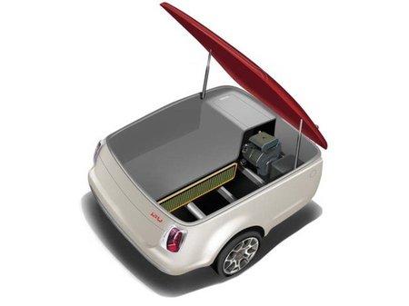 Electric Motors and Vehicles Power Regeneration Unit