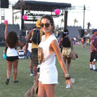 Camilla Belle Coachella 2014