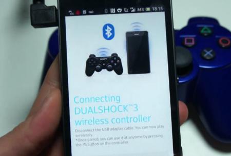 Sony introduce el soporte nativo de DualShock 3 en sus teléfonos Xperia