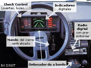 Vista atrás: Citroen BX Digit