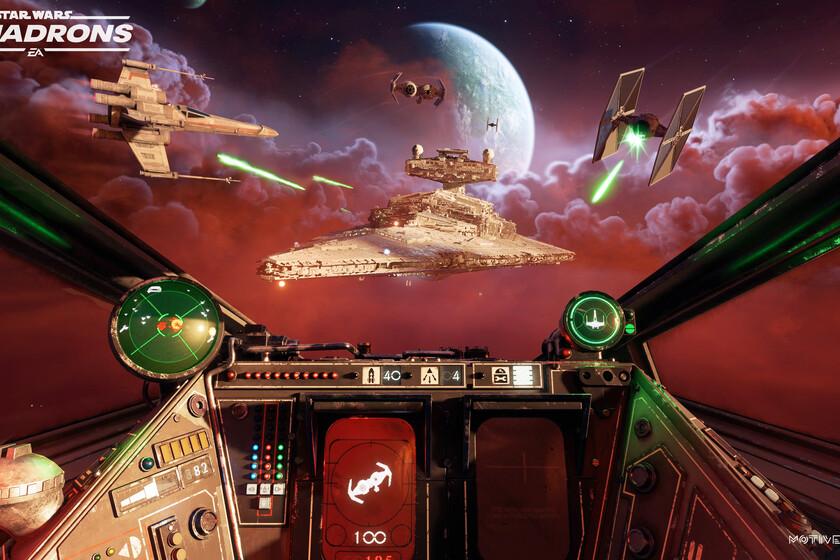 Las batallas espaciales de Star Wars: Squadrons se verán mejor que nunca con las mejoras gráficas de Xbox Series X/S y PS5