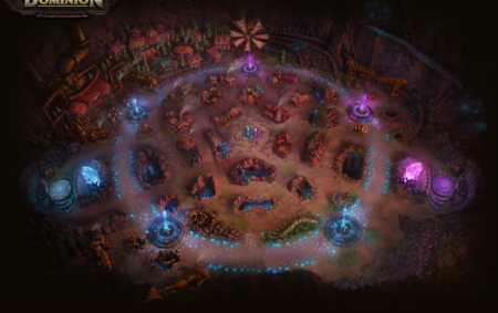 League Of Legends Dominion Map Lol