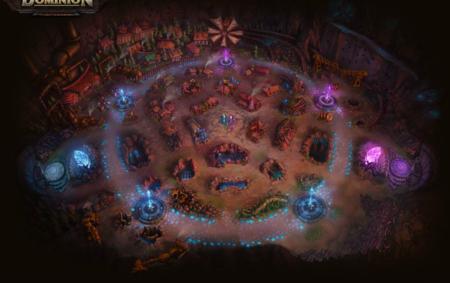 League Of Legends Dominion Map Lol