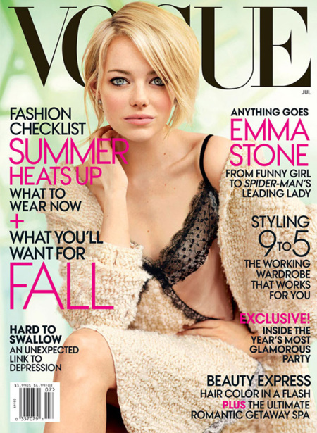 Emma Stone Vogue US