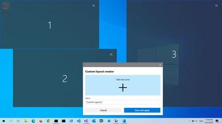 Windows 10 Fancyzones Powertoys