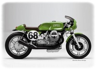 Moto Guzzi Café Racer Designer's Cut by Oberdan Bezzi