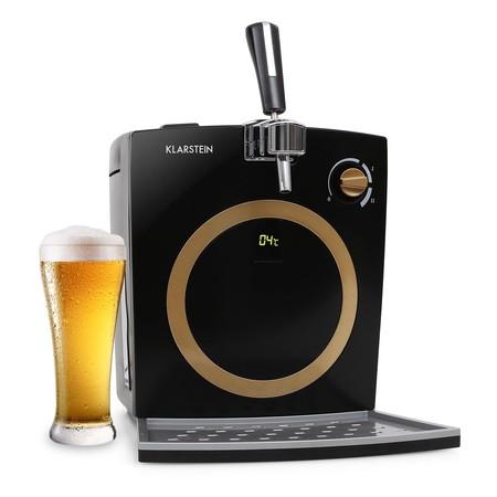 Dispensador de cerveza Klarstein con grifo, para barriles de hasta 5 litros, por 124,99 euros