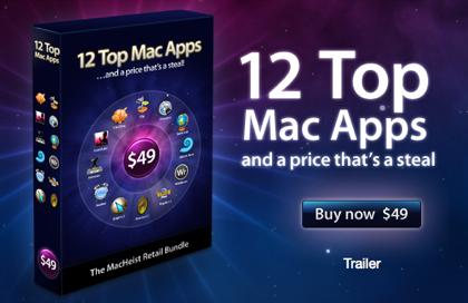 El paquete Macheist: 12 aplicaciones comerciales por sólo 49 dólares