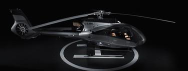 Aston Martin se eleva por los cielos y junto con Airbus crea un helicóptero de súper lujo
