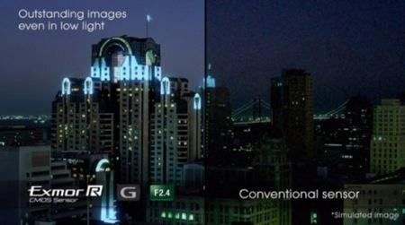 Sony Cyber-shot DSC-TX1 con sensor Exmor R a prueba