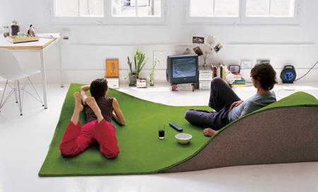 Flying carpet, la alfombra voladora de Nani Marquina